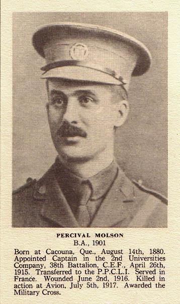 Photo of  Percival Molson