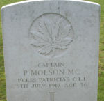 Grave Marker– Photo of grave marker courtesy of Wilf Schofield, England.