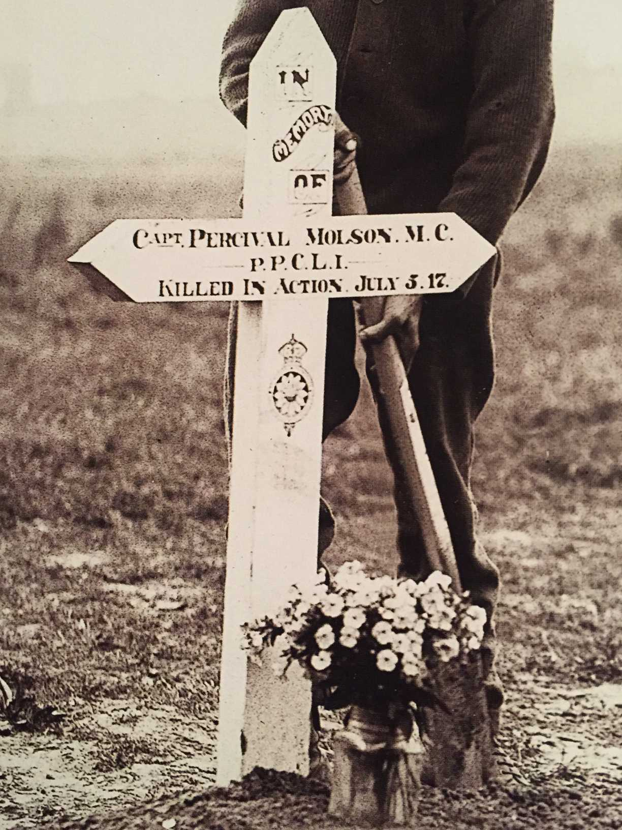 Original Grave Marker– Submitted for the project, Operation Picture Me