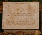 Gravestone of Edward Bewhey– Gravestone of Private Edward Bewhey, Azmak Cemetery, Turkey.