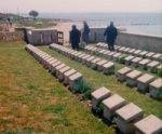 The Azmak Cemetery– The Azmak Cemetery, Suvla, Turkey where Private Edward Bewhey is buried.