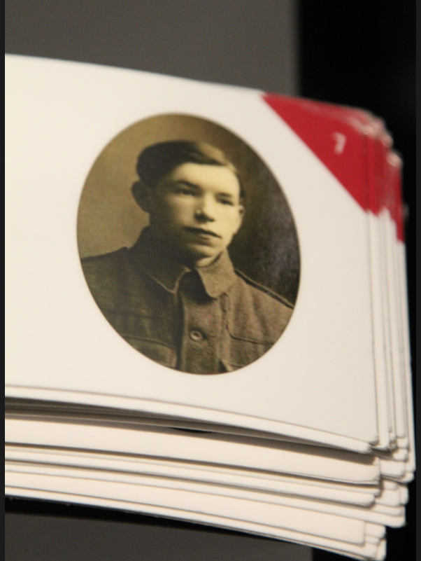 Photo of EDWARD BEWHEY– In memory of the men and women from Newfoundland who went away to war and did not come home. From the  Rooms Archives and Museum St Johns Newfoundland. Submitted for the project, Operation Picture Me