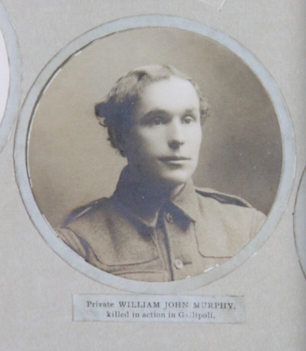 Photo of WILLIAM JOHN MURPHY– In memory of the men and women from Newfoundland who went away to war and did not come home. From the  Rooms Archives and Museum St Johns Newfoundland. Submitted for the project, Operation Picture Me