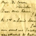 Letter– Letter from Commanding Officer Roy Shaw Page One