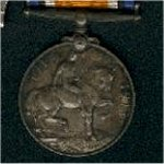 medal– Amos Smith, Pte. 148365 Winnipeg Grenadiers Died at Vimy Ridge, 10 April 1917.  Canadian Expeditionary Force, 78th Battalion.  Medals, including the widows/mothers pin given to his wife Julia [Daniels] Smith.