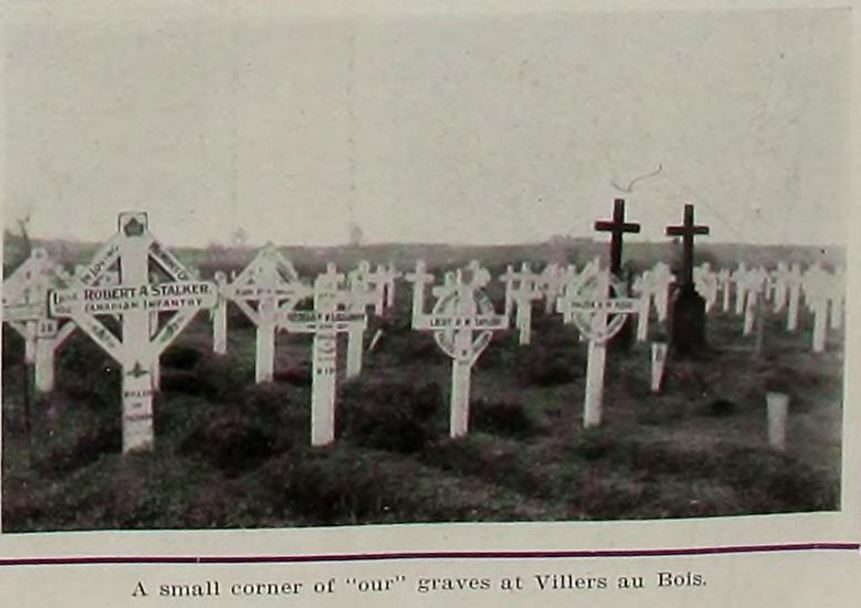 Newspaper Clipping– Image source: news clipping shows his grave on far left