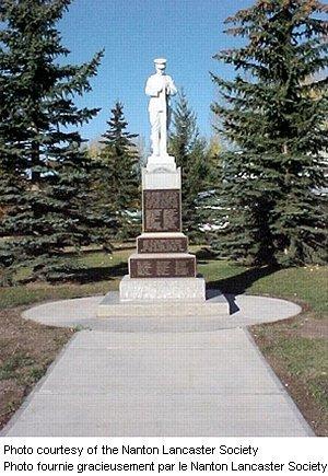 The Nanton Cenotaph