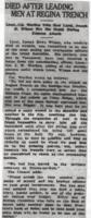 Newspaper clipping– From the Daily Colonist of May 26, 1917. Image taken from web address of http://archive.org/stream/dailycolonist59y144uvic#page/n0/mode/1up