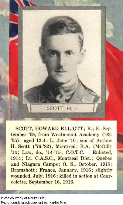 Photo of Howard Elliot Scott