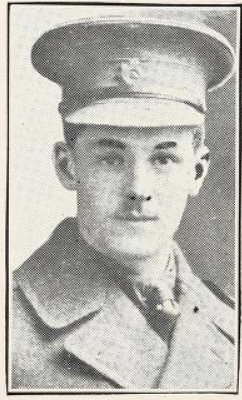 Photo of HOWARD ELLIOTT SCOTT– Photo from the National Memorial Album of Canadian Heroes c.1919. Submitted for the project, Operation: Picture Me.