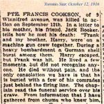 Newspaper Clipping 2– Details about his death.