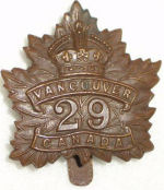 Badge– 700 Major Kenneth Churchill Craigie Taylor DSO (RMC 1905) was the son of Archibald Dunbar Taylor and Isobel Churchill (nee Craigie) Taylor, of Kerrisdale, Vancouver, British Columbia. He served with the Canadian Infantry (British Columbia Regiment), 29th Bn. He died 12 Sep 1916. He was buried in the Sunken Road Cemetery, Contalmaison, Somme, France.