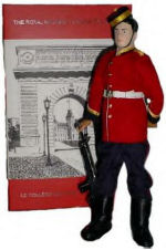 Memorial Doll– Ex-cadets are named on the Memorial Arch at the Royal Military College of Canada in Kingston, Ontario and in memorial stained glass windows to fallen comrades. 700 Major Kenneth Churchill Craigie Taylor DSO (RMC 1905) was the son of Archibald Dunbar Taylor and Isobel Churchill (nee Craigie) Taylor, of Kerrisdale, Vancouver, British Columbia. He servde with the Canadian Infantry (British Columbia Regiment), 29th Bn. He died 12 Sep 1916. He was buried in the Sunken Road Cemetery, Contalmaison, Somme, France.