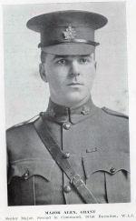 Photo of Alexander Grant– Major Alexander Grant, Senior Major, 101st Battalion