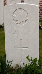 Photo of WILLIAM TAPP– Grave of Sergeant William Tapp. Killed in action 1918.