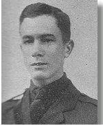 Photo of Robert Masson– Donald Howe Masson's brother, Robert, was also killed in the First World War.    Source:  The Photo and caption are from the entry for Robert Geoffrey Masson at the website - The Canadian Virtual War Memorial.