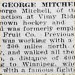 Coupure de presse – source: Morning Bulletin (Edmonton); 7 mai 1917, page 2