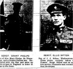 Newspaper Clipping– Clipping from the Dutton Advance for Thursday, 17 May 1917, page 1.