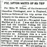Newspaper Clipping– From the Dutton Advance for May 20, 1915.