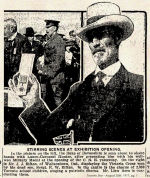 Newspaper Clipping– The Victoria Cross was presented to Lance Sergeant Ellis Wellwood Sifton's father by the Governor General of Canada at the Canadian National Exhibition in Toronto.