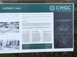 Information– CWGC memorial explanatory panel