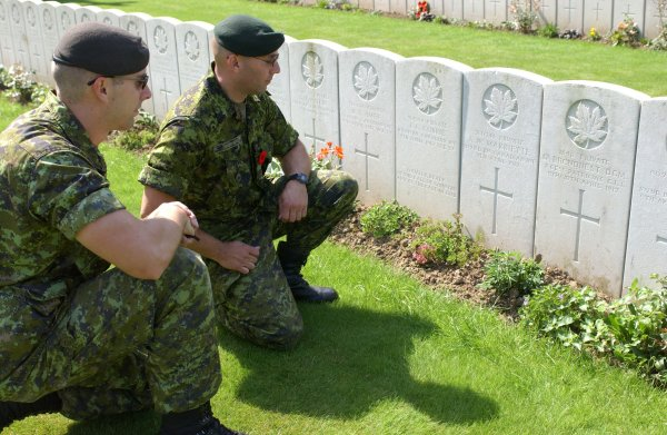 Remembering the Fallen Canadian Heroes