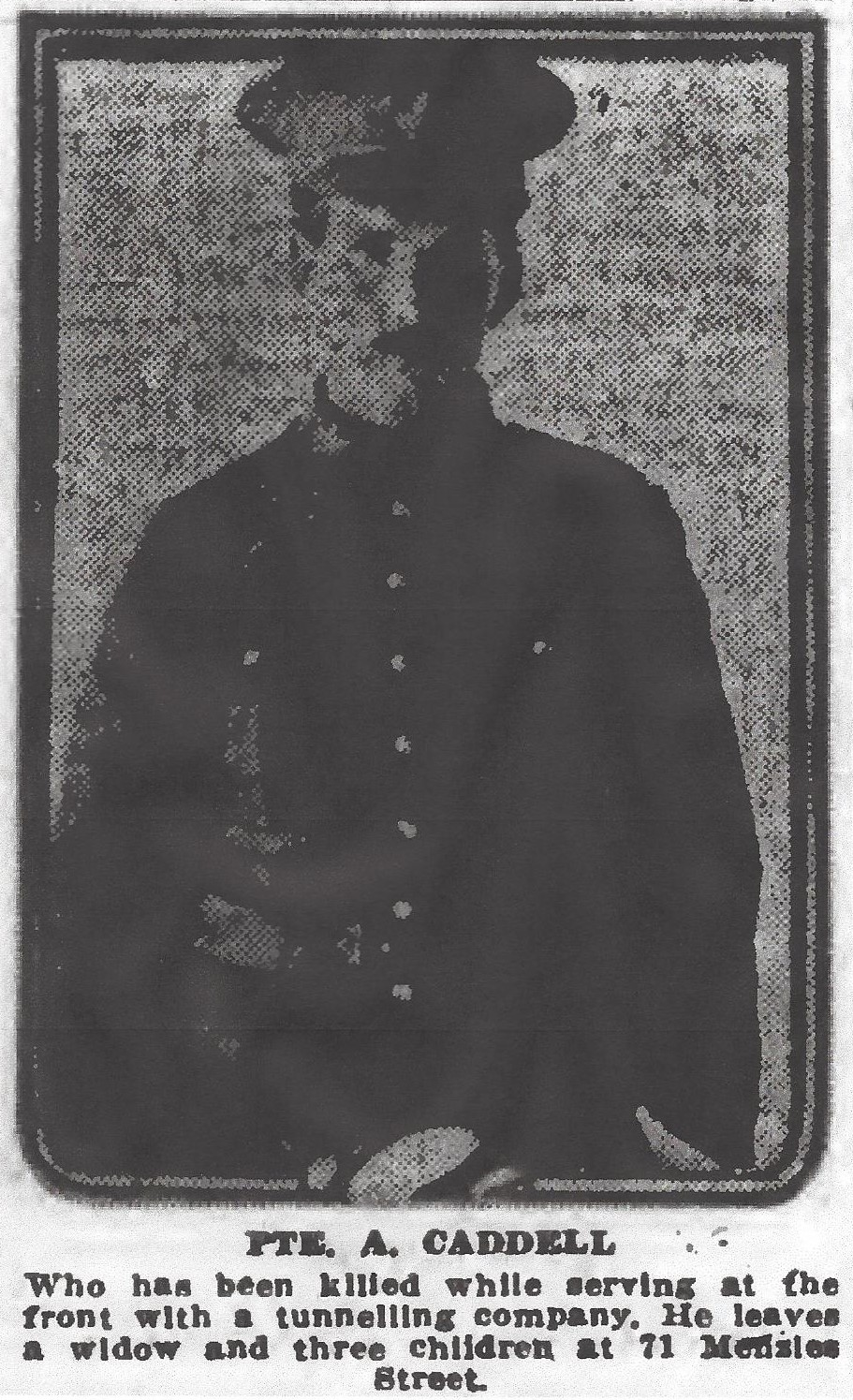 Newspaper Clipping– From the Daily Colonist of May 1, 1917. Image taken from web address of http://archive.org/stream/dailycolonist59y122uvic#page/n0/mode/1up