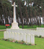Givenchy Road Canadian Cemetery– The Givenchy Road Canadian Cemetery, located on the grounds of the Vimy Memorial Park on Vimy Ridge, just outside of Neuville-St Vaast, France.(J. Stephens)