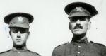 Photo of John Napier– 1916 Vancouver - John Napier age 41, and son Alan Napier age 16, prior to leaving for overseas.