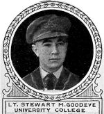Photo of Stewart Goodeve– From: The Varsity Magazine Supplement Fourth Edition 1918