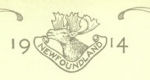 Royal Newfoundland Regiment Insignia– In memory of the men who served in the Royal Newfoundland Regiment during World War I and did not return home.