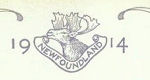 Royal Newfoundland Regiment Badge– In memory of the men would served in the Royal Newfoundland Regiment during World War I and did not return home.  Submitted for the project Operation: Picture Me.