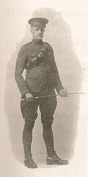 """Photo of Joseph Hart– Submitted with the permission of Bonnie Thornhill, from the book """"In the Morning Veterans of Victoria County, Cape Breton. Submitted for the project, Operation: Picture Me"""