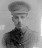 Photo of Robert Home– In memory of the Harbord Collegiate Institute students who served during World War I and World War II and did not return home.   Submitted for the project Operation: Picture Me