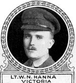 Photo of William Hanna– From: The Varsity Magazine Supplement Fourth Edition 1918 published by The Students Administrative Council, University of Toronto.   Submitted for the Soldiers' Tower Committee, University of Toronto, by Operation Picture Me.
