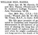 Newspaper Clipping 3– Source:  Acta Victoriana War Supplement, Victoria College, Toronto, Ontario, December 1919.