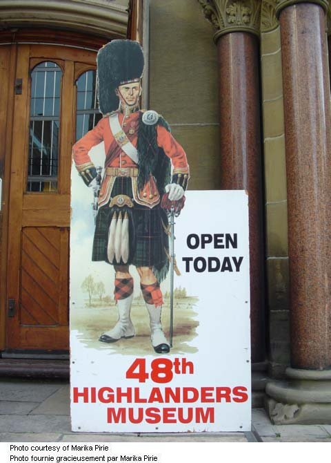 48th Highlanders Museum