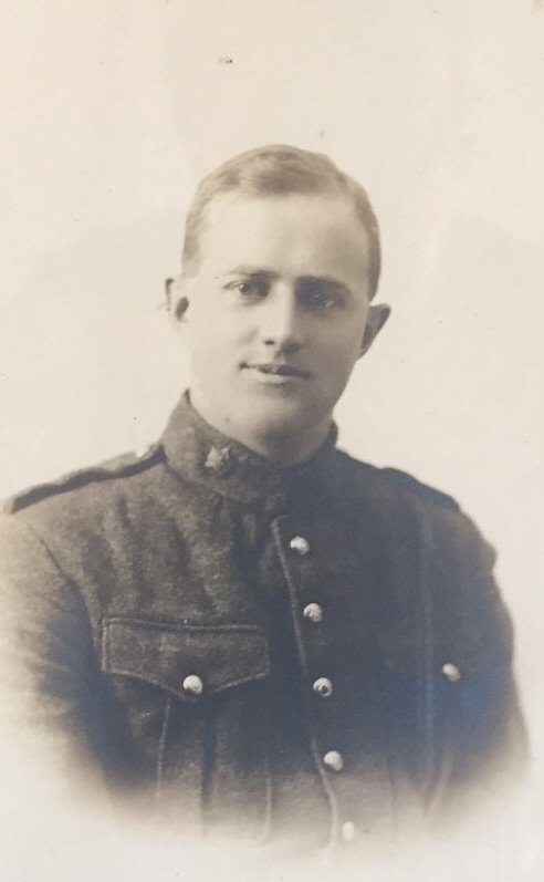 Photo of GEORGE MILLER BRIDEN– Private George Miller Briden, 5th Bn Canadian Infantry