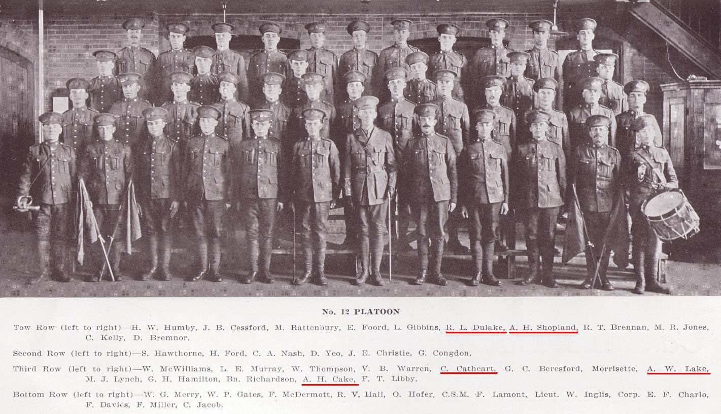 Photo de Groupe – C Company, 12th Platoon, 101st Battalion