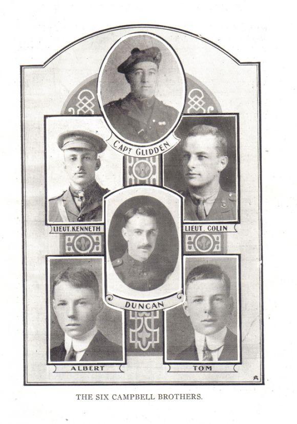 Les six frères Campbell