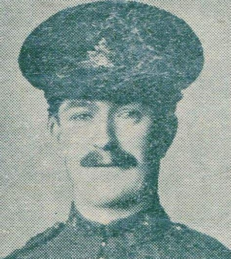 Newspaper clipping– Pte W.J. Darbourn, Fought at Vimy Ridge, Wounded 9th April 1917, Died of Wounds 10th April 1917