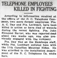 Newspaper clipping– From the Daily Colonist of June 13, 1917. Image taken from web address of https://archive.org/stream/dailycolonist59y159uvic#page/n0/mode/1up