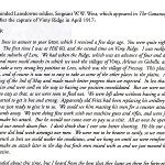 2e Page Commémoratif