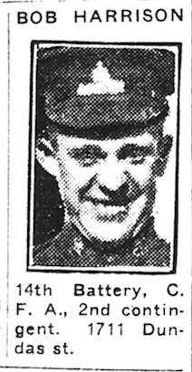Newspaper clipping– From the Toronto Telegram October 1915. Submitted for the project Operation Picture Me