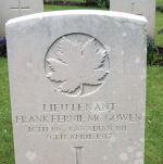 Grave Marker– Photo courtesy of Wilf Schofield, England, 2009.