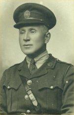 Photo de William McIntyre – Cette image est de W.G. McIntyre dans son uniforme de Lieutenant.