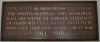Memorial Plaque– In memory of the Harbord Collegiate Institute students who served during World War I and World War II and did not return home.
