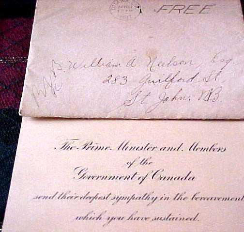 Condolence letter 2