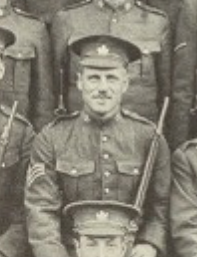 Photo of PERCY BENSON– In memory of the men joined the 76th Battalion CEF and died while serving in other Battalions. Submitted for the project, Operation: Picture Me