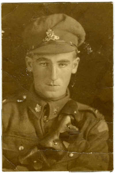 Photo of Albert Quirt– Albert in uniform before going to France